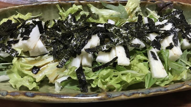 山芋のサラダ