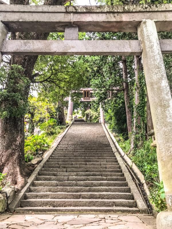 階段がキツイです。