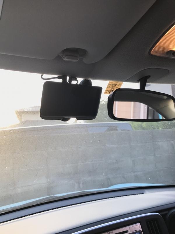 会社の車に取り付けてもらいました