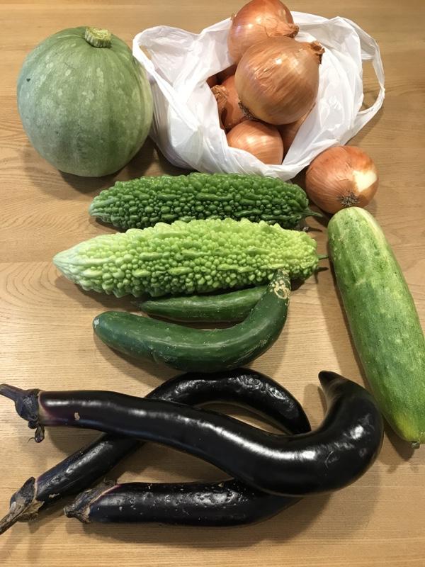 自家製野菜色々